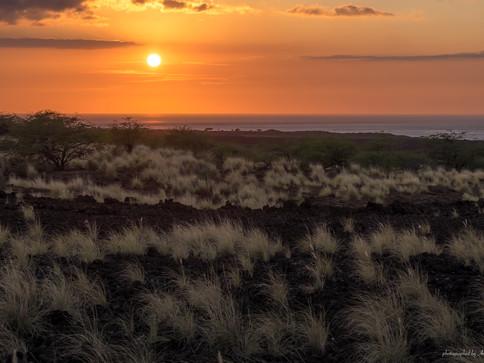 Sonnenuntergang auf Big Island