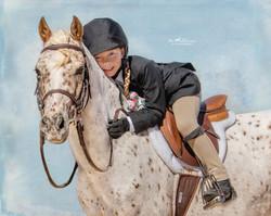 Pony Applejack and best pal