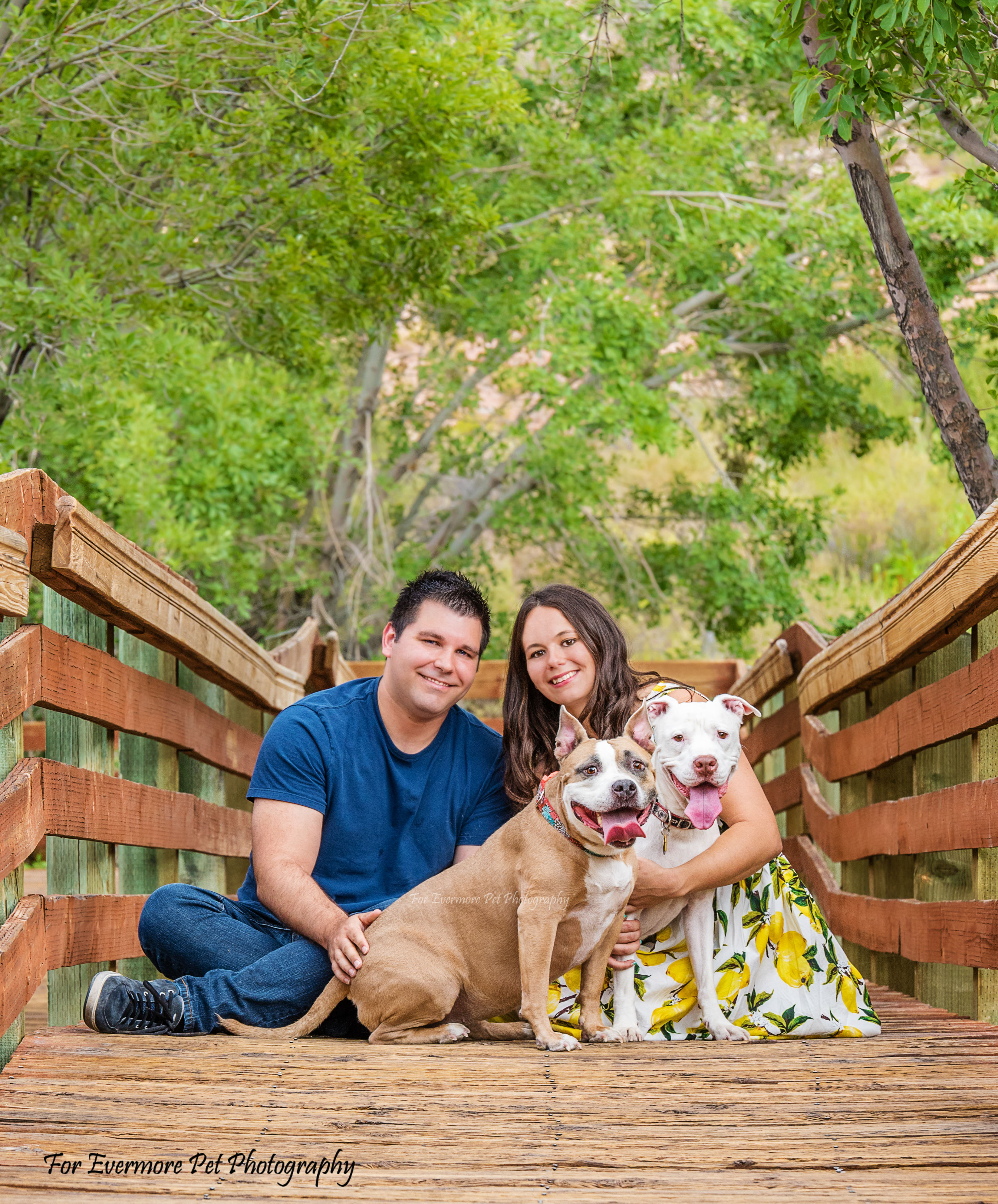 Cupcake and Harley and their parents