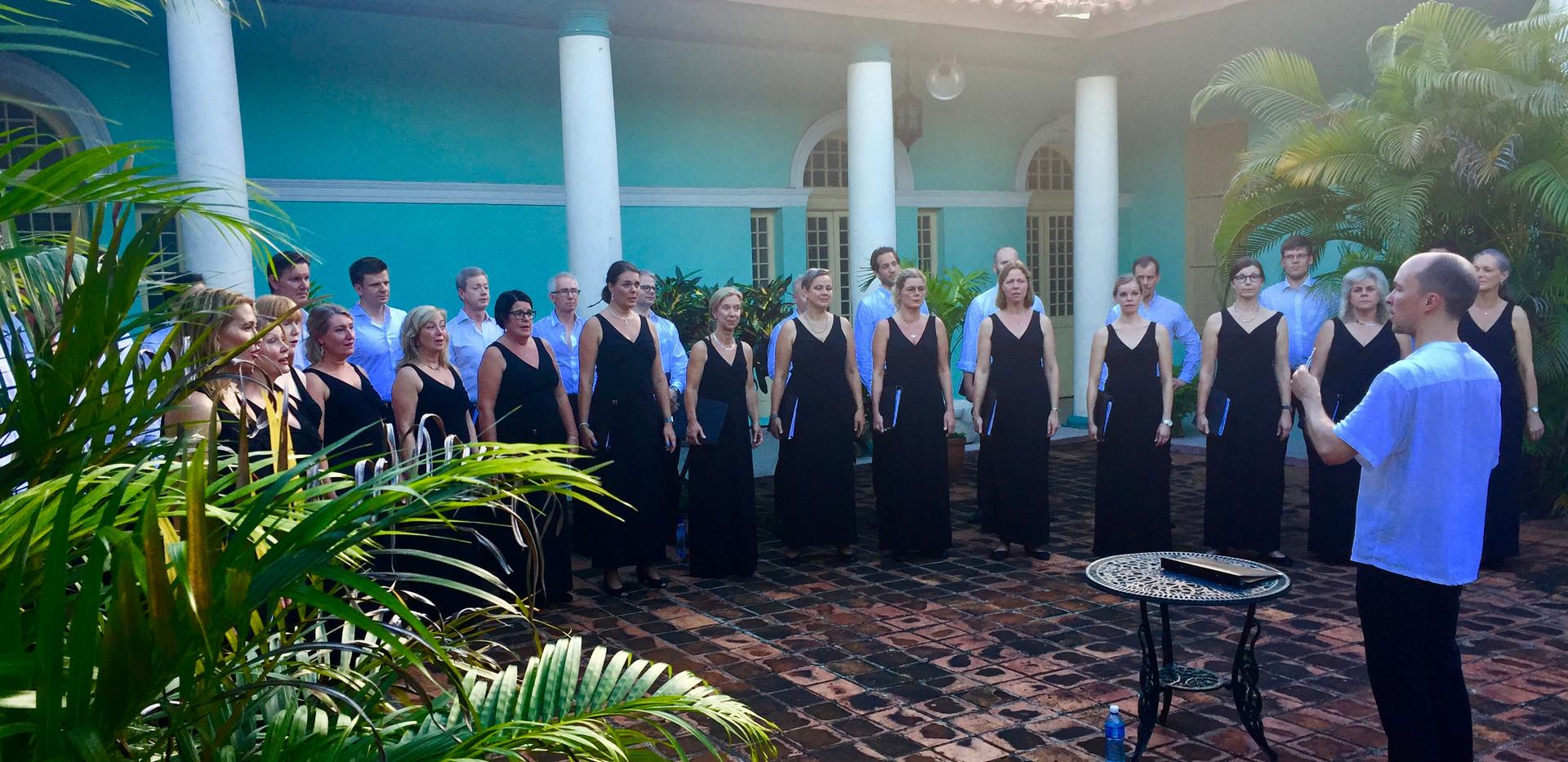 Konsert i Piñar del Río, Kuba