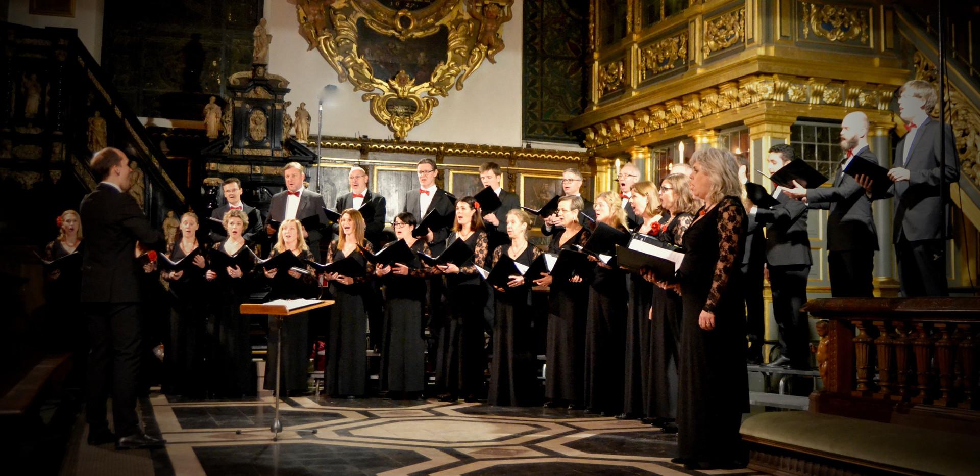 Adventskonsert i Tyska Kyrkan