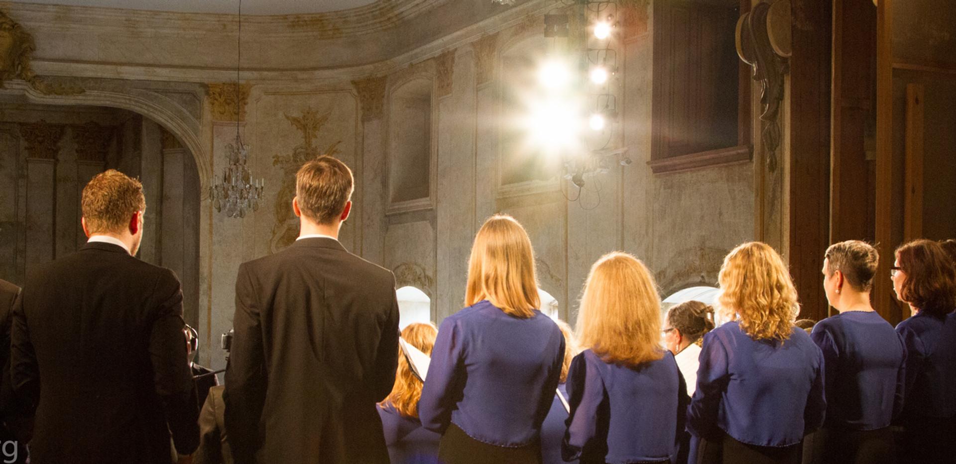 Konsert på Ulriksdals Slottsteater Confidencen