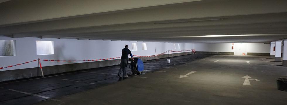 Abdichten einer Tiefgarage in Leipzig
