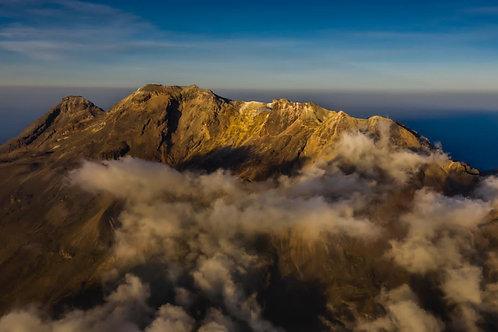 Volcán Iztaccihuatl aéreas