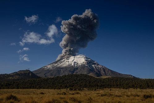 Copia de El Popocatépetl