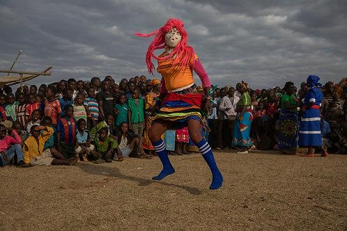 Ceremonia de coronación de jefe de aldea Msokoneza T/A Kalolo Village