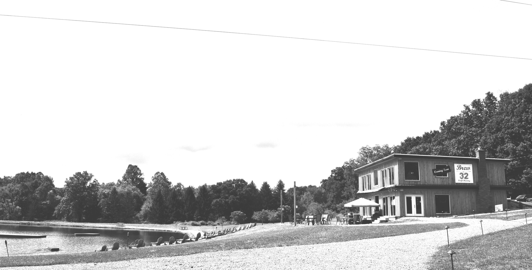 bw building and lake.jpg