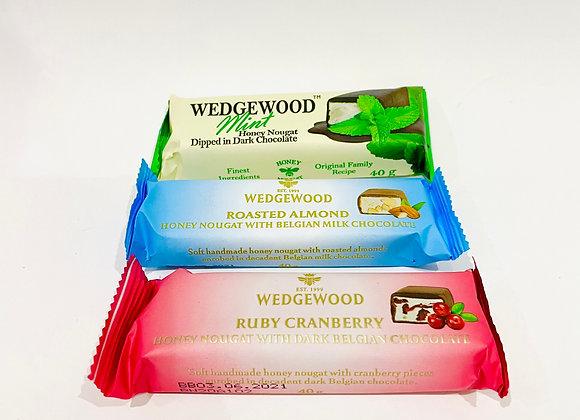WedgeWood Chocolate Dipped Nougat