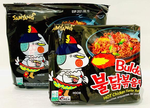 Pack of 5 Samyang Spicy Black Noodles