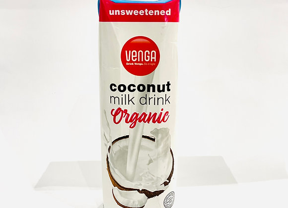 1l Venga Unsweetened Coconut Milk