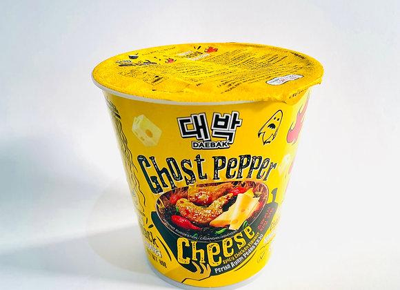 Daebak Ghost Pepper Cheese Noodles Tub