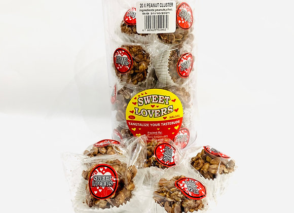 Tub of 20 Peanut Cluster