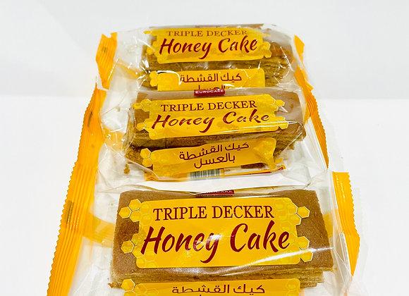 3x Tripple Decker Honey Cake