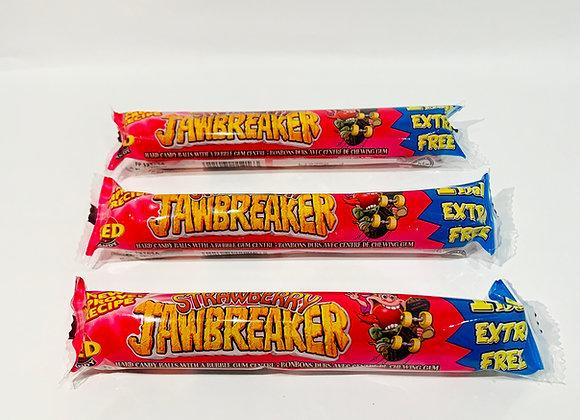 3x 5's Jawbreaker Strawberry