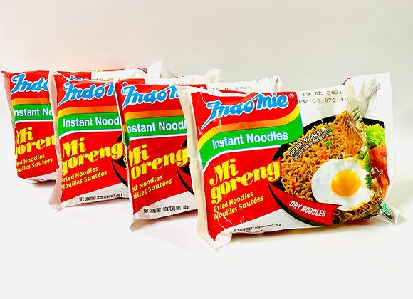 4x Indomie Instant Noodles Mi Goreng