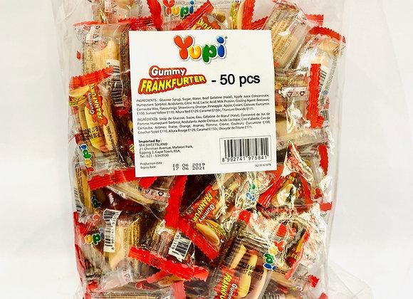50's Yupi Hotdogs Gummies