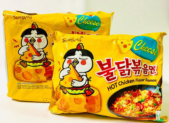 Pack of 5 Samyang Spicy Cheese Noodles