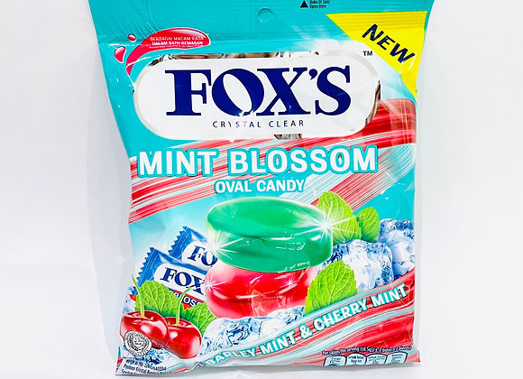 Fox Mint Blossom Oval Candy Bags