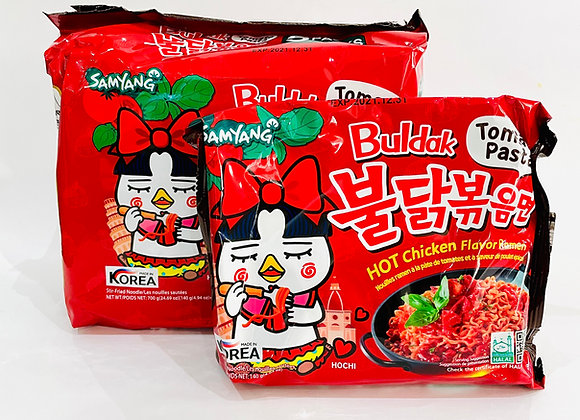 Pack of 5 Samyang Spicy Tomato Pasta Noodles