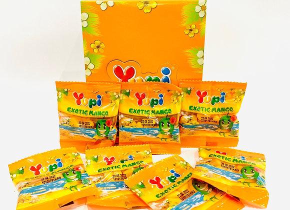 2x 24's Yupi Exotic Mango Gummies Box