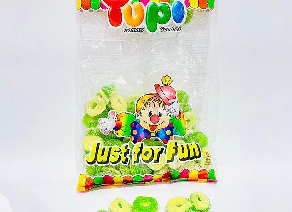 Yupi Apple Sour Rings Gummies