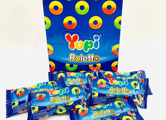 24's Yupi Roletto Gummies Box
