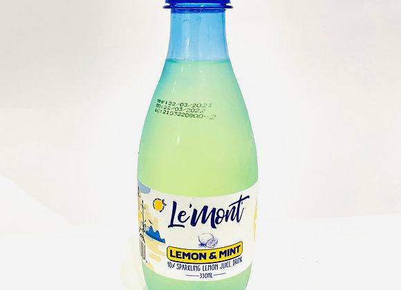 Le'Mont Lemon & Mint Drink 330ml