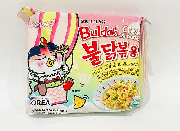 Samyang Spicy Cream Carbo Noodles