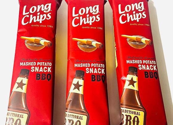 3x Long Chips Bbq