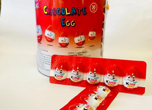 Tub of  30 Chocolate Eggs