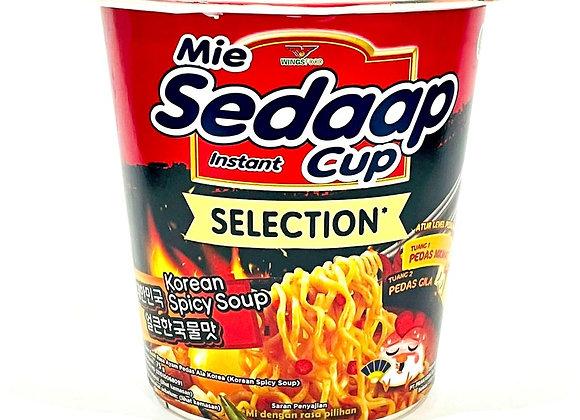 Mie Sedaap Korean Spicy Soup Tub Noodles