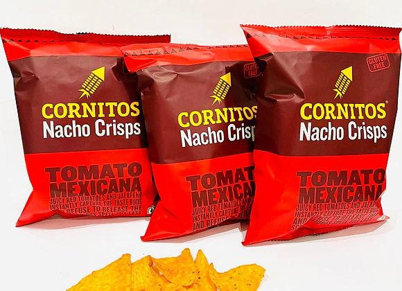 3x Cornitos Nacho Crisps Tomato Mexicana 60gr