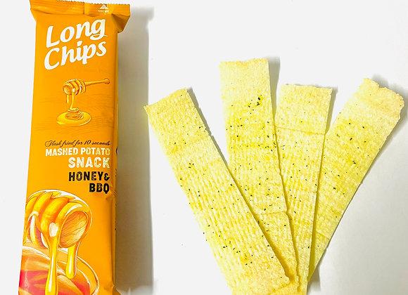 Long Chips Honey & BBQ