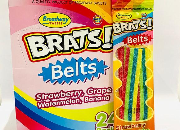 3x Brats Belts