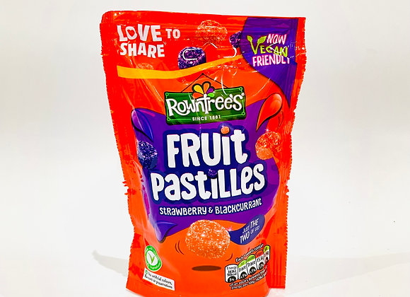 Rowntree's Fruit Pastilles Strawberry & Blackcurrent
