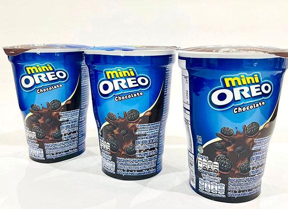 3x Mini Chocolate Oreo Cup