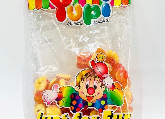 Yupi Peach Sour Rings Gummies