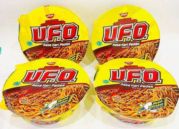 4x UFO Spicy Curry Bowl Noddles