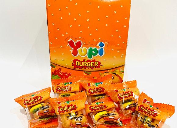 24's Yupi Burger Gummies Box