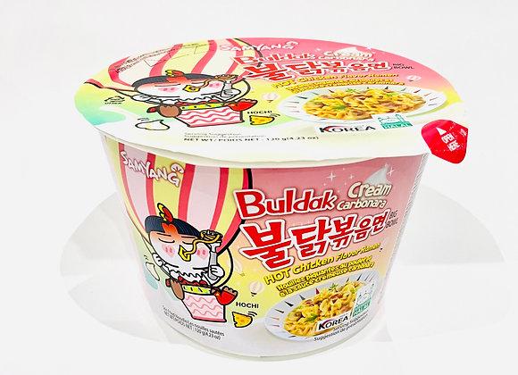 Samyang Creamy Carbo Spicy Bowl Noodles