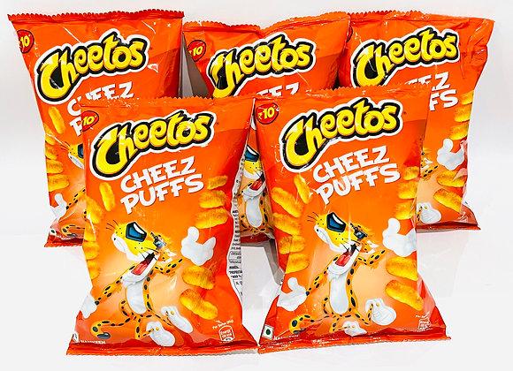 5x Cheetos Cheez Puffs