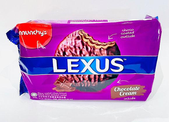 Lexus Chocolate Coated Cream Biscuits