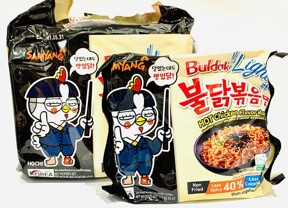 Pack of 5 Samyang Spicy Noodles Light