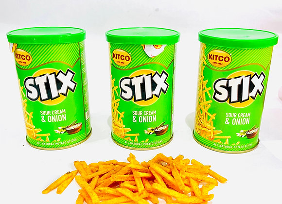 3x Stix Sour Cream & Onion