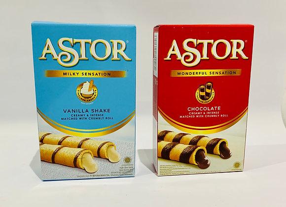 Assorted Astor Wafer Rolls