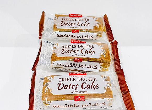 3x Tripple Decker Date Cake