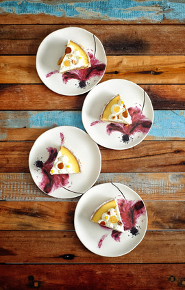 Tarte citron-noisettes