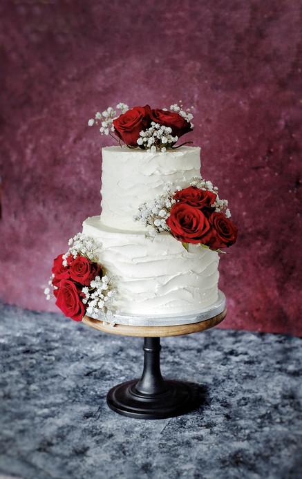 Gâteau de mariage lyon - roses.jpeg
