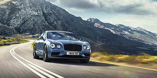 04 flying spur w12s at rockview dam road