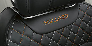 06 bentayga mulliner seat close up with